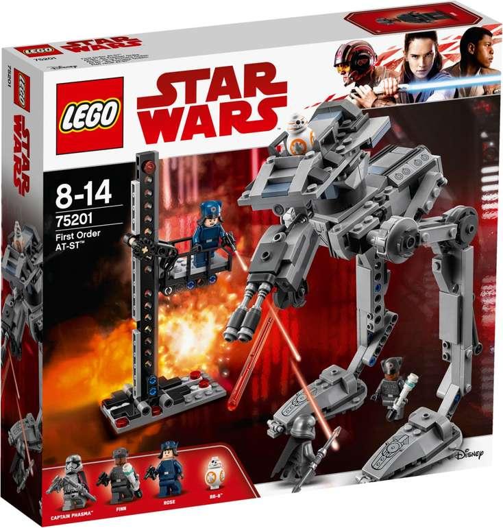 LEGO 75201 Star Wars - First Order AT-ST für 32,94€ inkl. VSK (statt 40€)