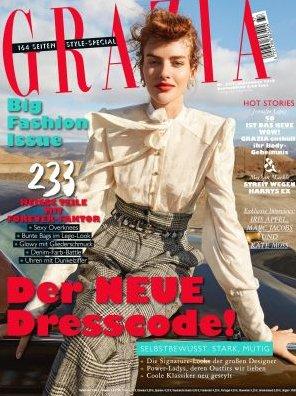 """Jahresabo """"Grazia"""" mit 50 Ausgaben für 156€ + 150€ Bestchoice-Gutschein!"""