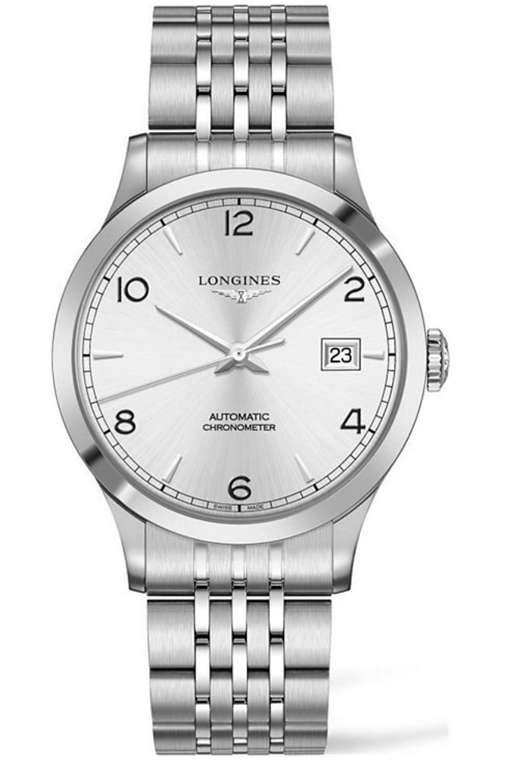 Longines Herrenuhr L28214766 in Silber für 1.251€inkl. Versand (statt 1990€)