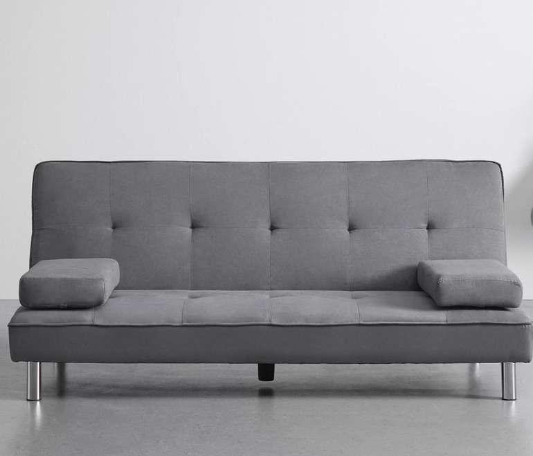 Bessagi Home 'Esther' Sofa mit Schlaffunktion in Grau für nur 190,45€ inkl. Versand (statt 300€)