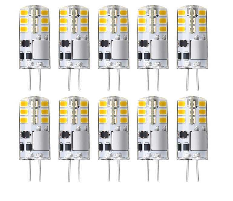 KINGSO G4 LED Lampen 3W Halogen für 10,39€ inkl. Versand (statt 16€)
