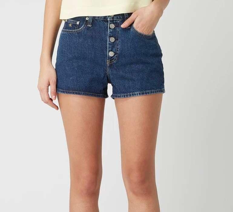 Calvin Klein Jeans High Rise Jeansshorts für 24,49€ inkl. Versand (statt 38€)