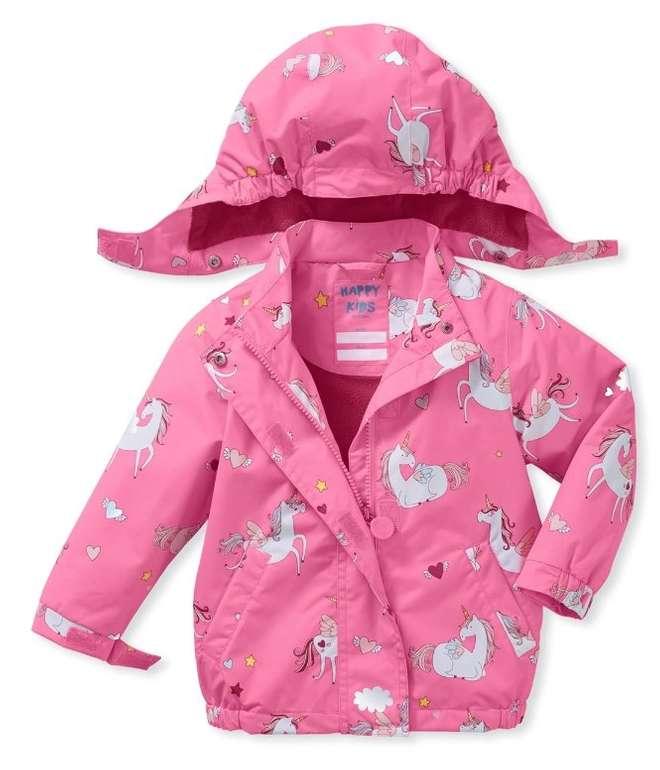 Tchibo: 15% Rabatt auf das Kinder & Baby Sortiment, z.B. Thermo-Regenjacke Einhorn für 16,85€