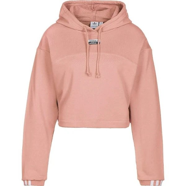 Adidas Ryv Crop Hoodie in Rosa für 29,99€ inkl. Versand (statt 53€)