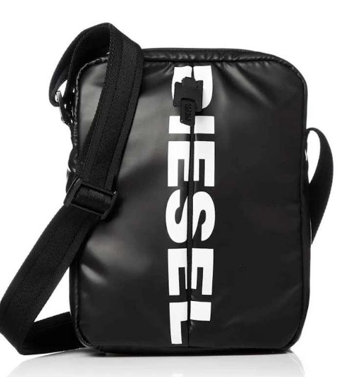Diesel Tasche 'Boldmessage' in grau / schwarz / weiß für 31,45€ inkl. Versand (statt 63€)