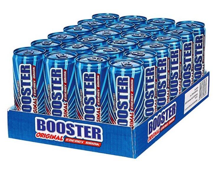 Netto: 15% Rabatt auf alle Artikel der Kategorien Lebensmittel - z.B. 144 Dosen Booster Energie ab 61,14€