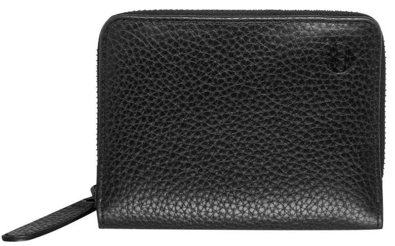 Timberland Zip Around Leder Brieftasche in Schwarz für 26,94€inkl. Versand (statt 40€)