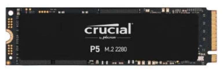 Notebooksbilliger: Crucial Days mit 15% auf Arbeitsspeicher & SSDs - z.B. Crucial P5 SSD 500GB für 71,82€