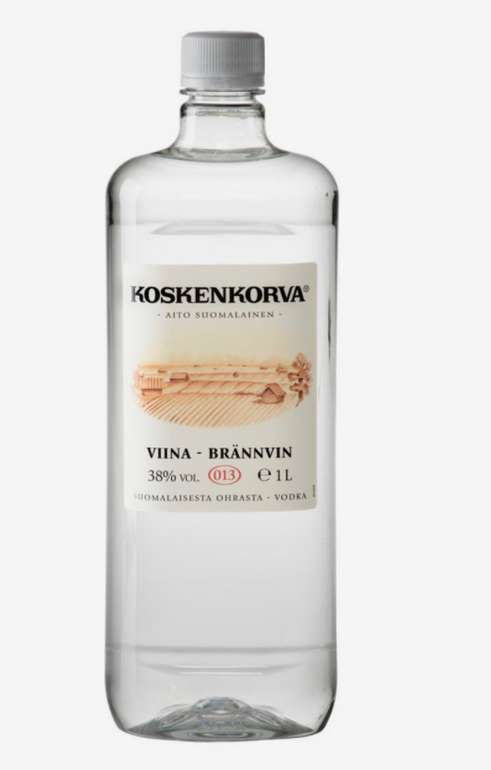 4x Koskenkorva Viina Wodka 38% 1L PET für 35,60€ inkl. Versand (statt 55€)