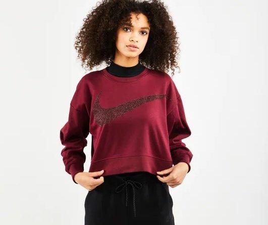 Nike Dy Get Fit Crew - Damen Sweatshirt für 39,99€ inkl. Versand (statt 49€)