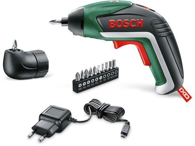 Bosch IXO V - 3,6V Akkuschrauber mit Bits für 34,94€ inkl. Versand (statt 59€)