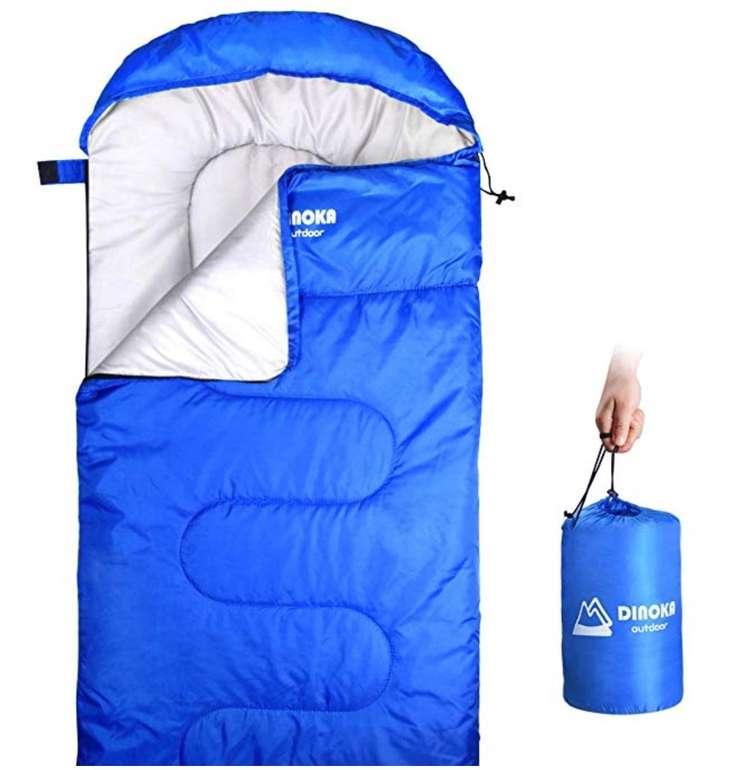 Dinoka Camping Schlafsack (3 Season Warm & Cool Weather) für 14,99€ (statt 30€)