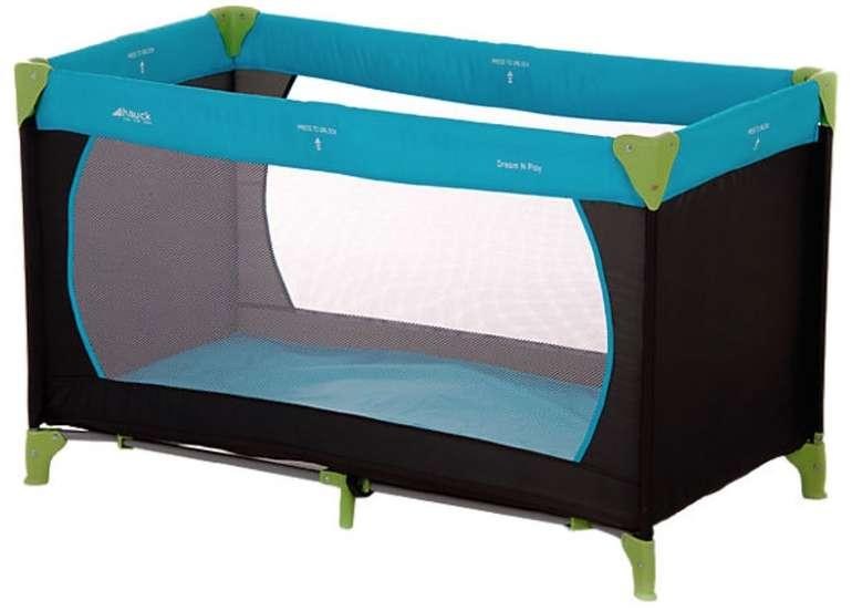 Hauck Reisebett Dream N Play (für Babys und Kinder ab Geburt bis 15 kg / 120 x 60 cm / Faltbar) für 25,49€
