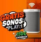 DSL Tarif wechseln & bis zu 150€ Cashback + Sonos Play:1 gratis bekommen