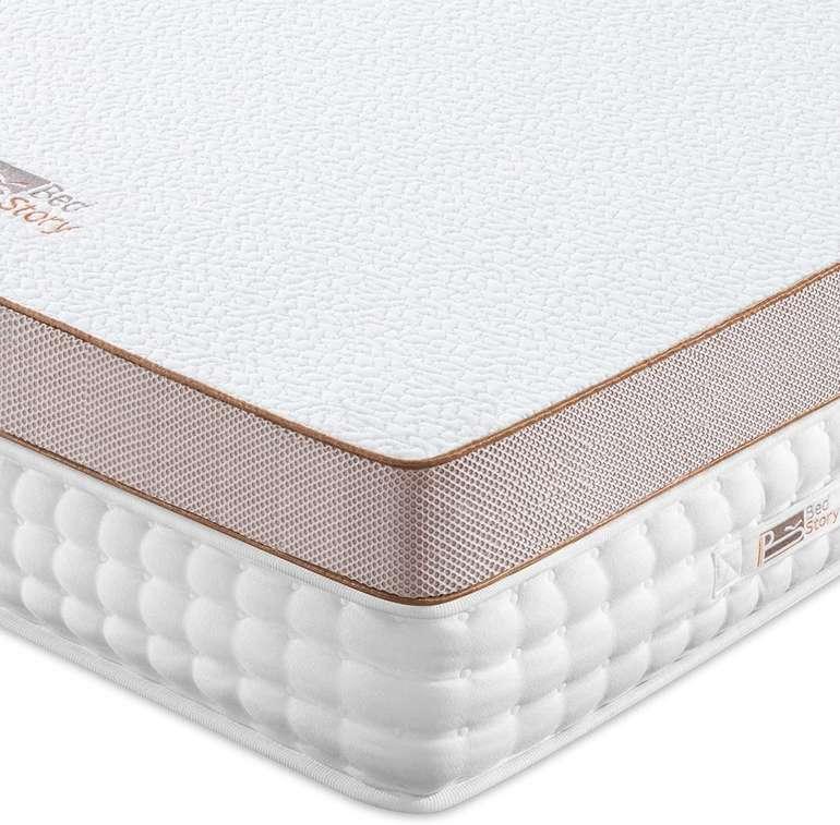 2 BedStory Produkte dank Gutschein reduziert, z.B. 5cm Gel Memory Foam Topper (140 x 200 cm) für 48€