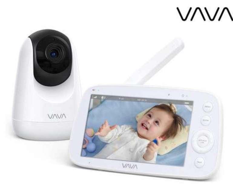 """Vava VA-IH006 Babyphone (5""""-HD-Bildschirm, 720p, bis 24 Std. Akkubetrieb, Zwei-Wege-Sprechsystem) für 105,90€"""