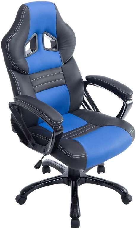 CLP Racing Bürostuhl Pedro XL (Kunstleder, höhenverstellbar, max. 150kg) für 74,99€ inkl. VSK