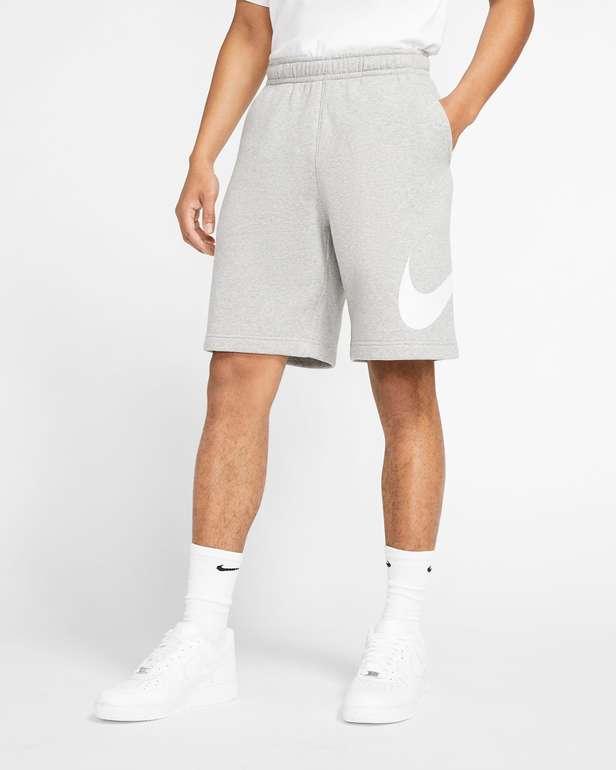 Nike Sportswear Club Herrenshorts mit Grafik (vers. Farben) zu je 27,99€inkl. Versand (statt 32€) - Nike Member!