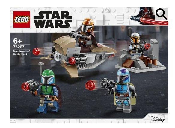 LEGO Star Wars™ 75267 Mandalorianer™ Battle Pack für 13,95€ (10,95€ bei Filiallieferung)