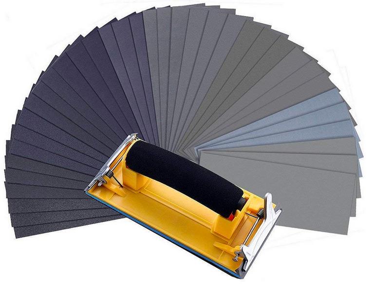 MOHOO Schleifpapier (36 Stück) - 120-3000 Körnung für 8,39€ mit Primeversand