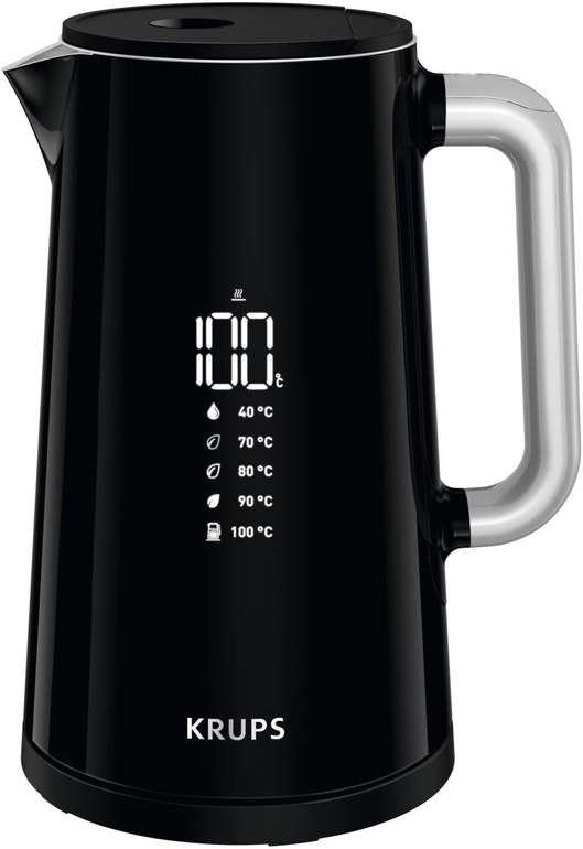 Krups BW8018 elektrischer Wasserkocher (1,7L, 5 Temperaturstufen) für 47,99€ (statt 69€)