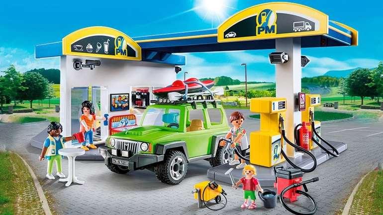 playmobil-tankstelle