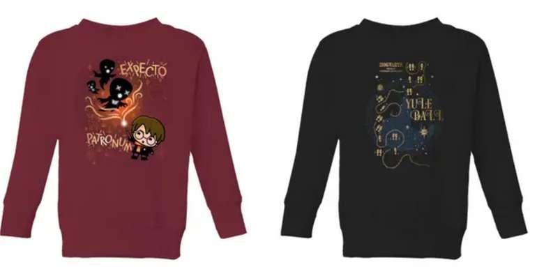 Harry Potter Kinder Bundle (bestehend aus T-Shirt und Sweatshirt) für 19,98€inkl. Versand (statt 39€)