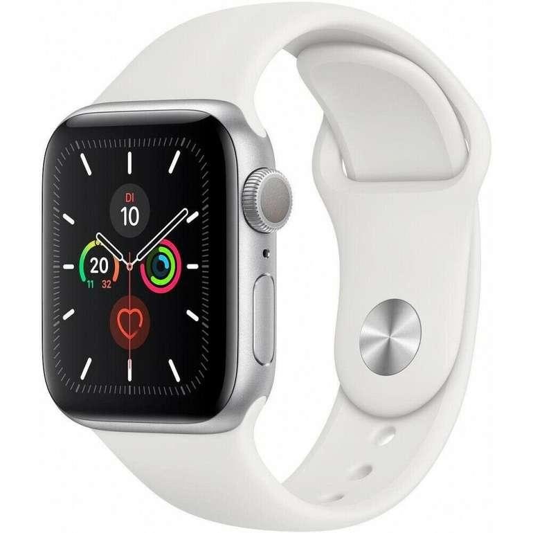 Apple Watch Series 5 GPS 40mm Aluminiumgehäuse für 332,91€ inkl. Versand (statt 365€) - Ebay Plus!
