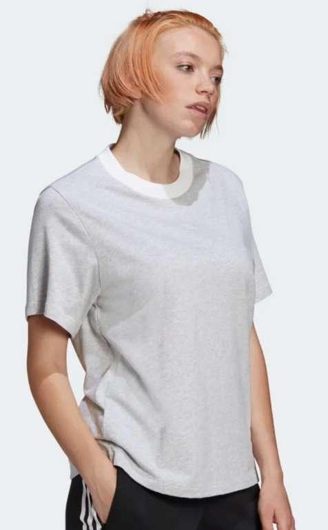"""adidas Boyfriend Damen Shirt in """"Light-Grey"""" für 14€ inkl. Versand (statt 21€) - Creator's Club!"""