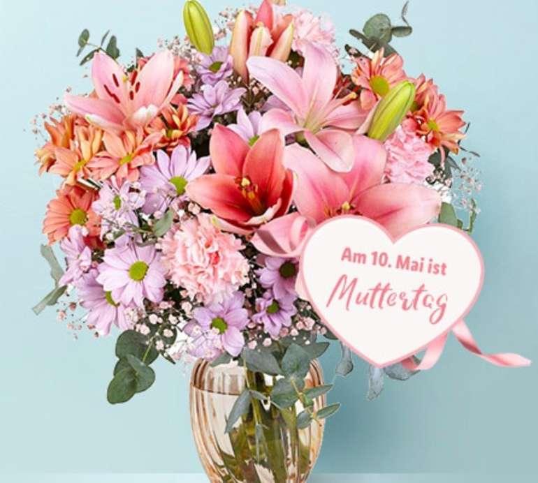 Lidl Blumen mit 20% auf Alles (MBW: 19,99€) - z.B. Sträuße für Muttertag günstig bestellen
