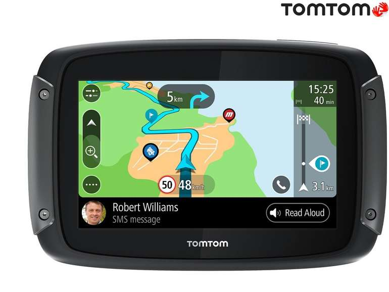 TomTom Rider 500 Motorrad-Navigationssystem für 255,90€ inkl. Versand (statt 318€)