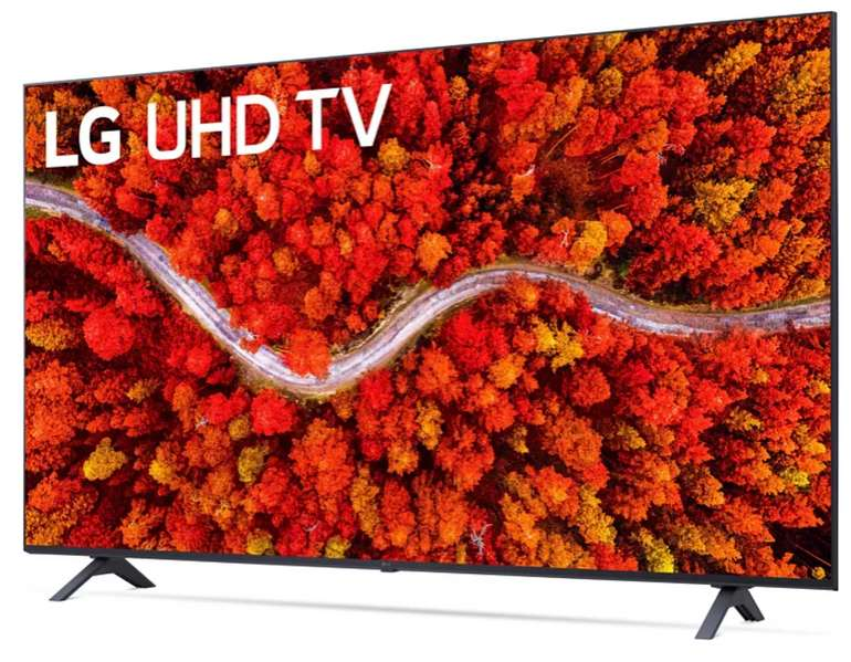 LG 50UP80009LA LCD TV mit 126 cm (UHD 4K, SMART TV, webOS 6.0 mit LG ThinQ) für 473,90€ inkl. Versand