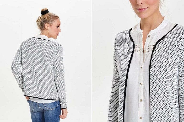 Only kurzer Strickcardigan