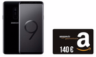 Galaxy S9 (4,95€) + 140€ Amazon + Vodafone Smart L+ (5GB) für 36,99€ mtl.