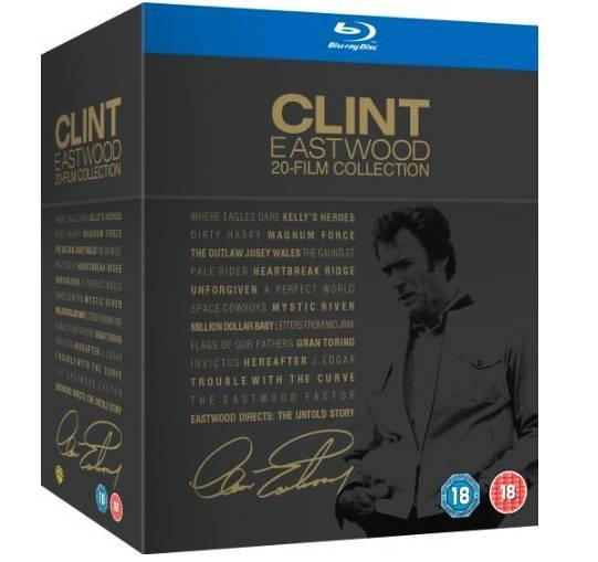 Clint Eastwood – Collection mit 20 Filmen auf Blu-ray für 35€ (statt 50€)