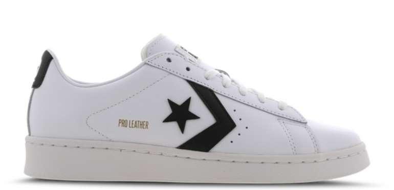 Stark! Converse Pro Leather OX Herren Sneaker in Weiß für 29,99€ inkl. Versand (statt 63€)