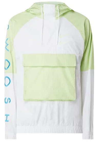 Nike Trainingsjacke mit Kapuze in Gelb für 44,99€ inkl. Versand (statt 60€)