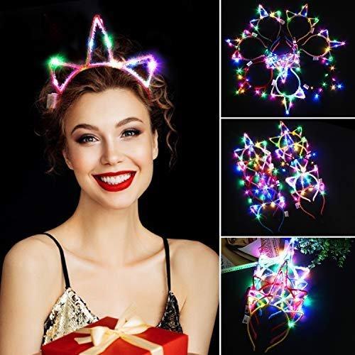 Fascigirl Einhorn LED Haarreif (10 Stück) für 4,50€ inkl. Prime Versand (statt 13€)