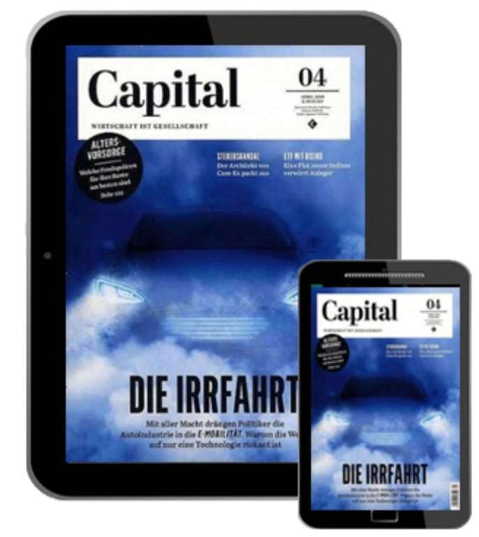 Capital Digital E-Paper Halbjahresabo für 40,02€ + z.B. 35€ Bestchoice Gutschein