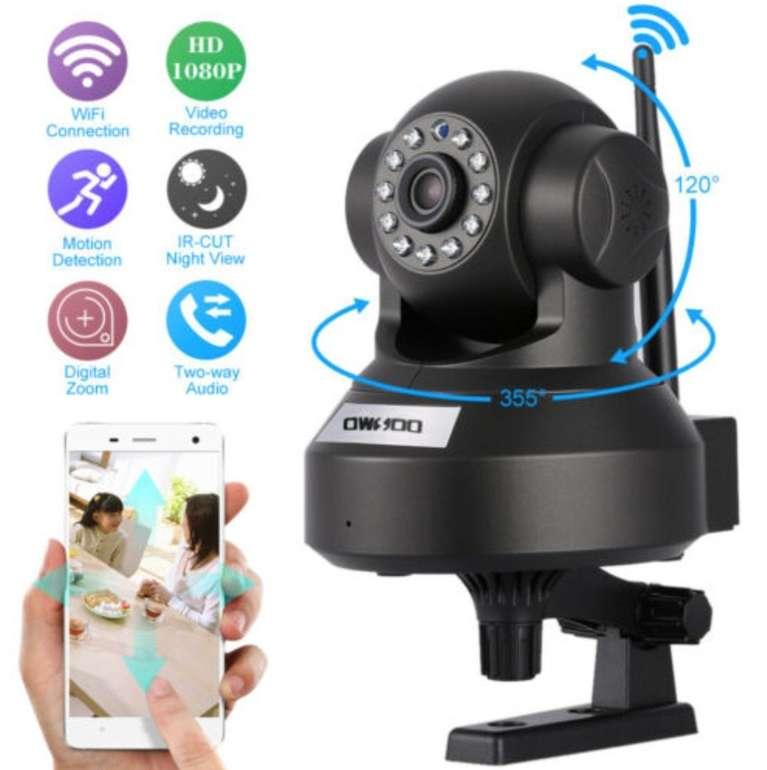 Owsoo 1080P HD IP Kamera mit 2 Megapixel, WiFi und Nachtsicht für 17,59€ inkl. Versand