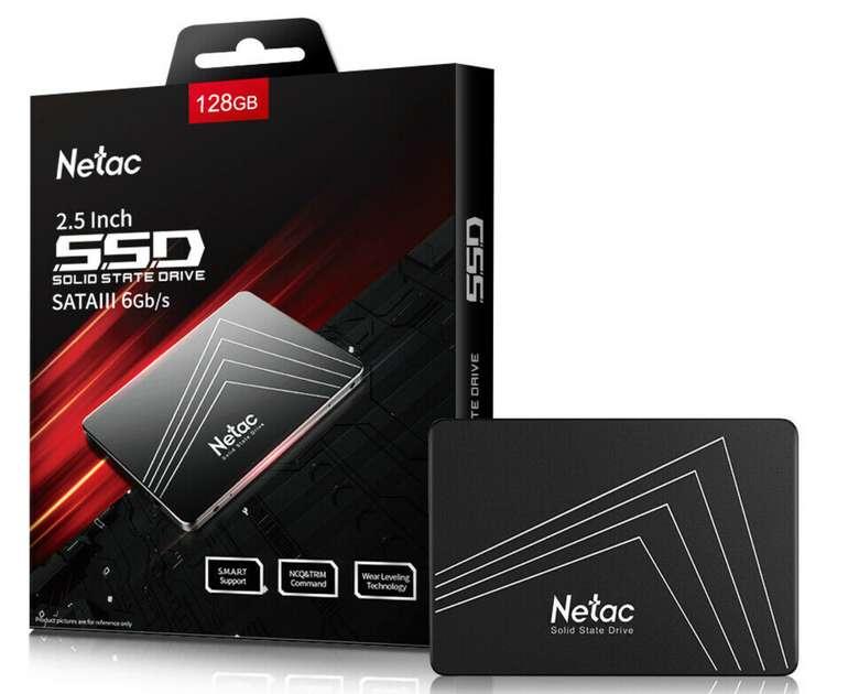 Netac SSD intern mit 128GB (2,5 Zoll, SATA III, 6Gb/s) für 18,69€inkl. Versand (statt 37€)