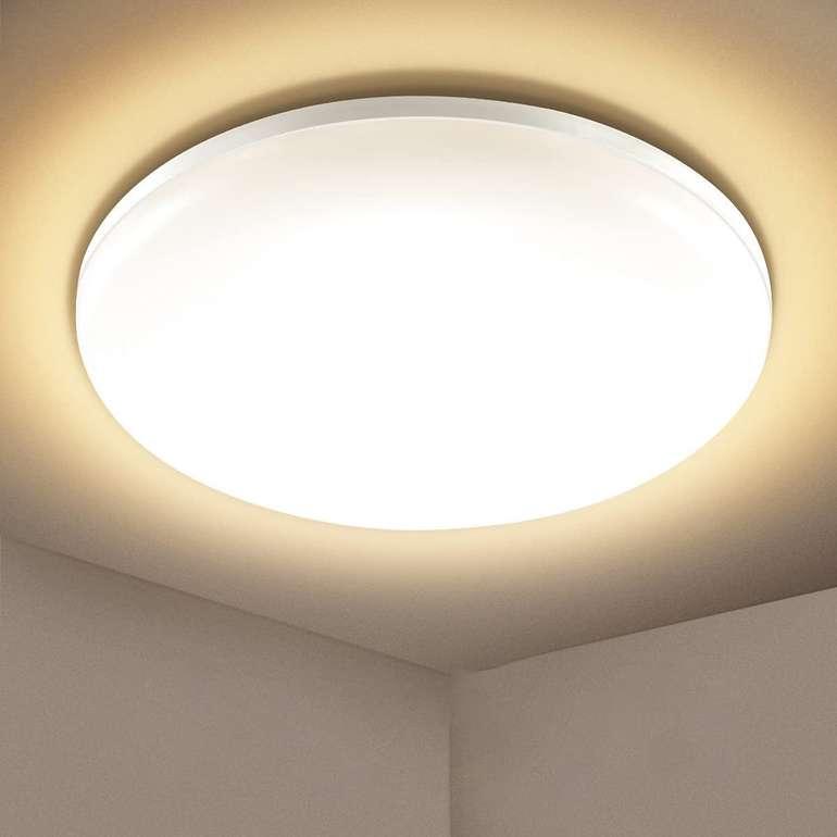 Efelandhome 24W LED Deckenlampe (3000K, IP54) für 13,79€ inkl. Prime Versand (statt 23€)