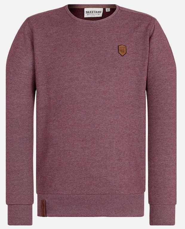 """Naketano Sweatshirt """"La Posta di Falcone"""" (versch. Farben) für je 31,92€ (statt 50€)"""