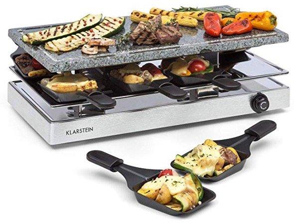 Klarstein Raclette-Grill mit Natursteinplatte und 1200W für 49,99€ inkl. Versand