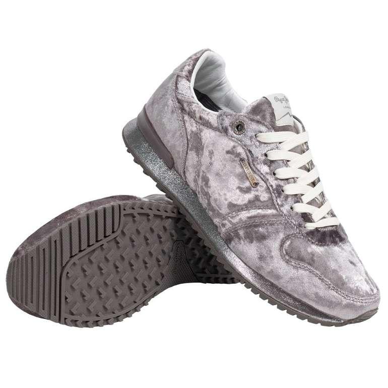 """Pepe Jeans """"Gable Velvet Low Top"""" Damen Sneaker für 22,94€ inkl. Versand (statt 62€)"""