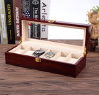 Uten - Uhrenbox aus Holz für 6 Uhren für nur 12,99€ inkl. Prime Versand