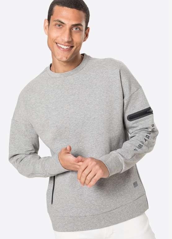 Superdry Gymtech Sportsweatshirt in Grau für 17,93€ inkl. Versand (statt 40€)