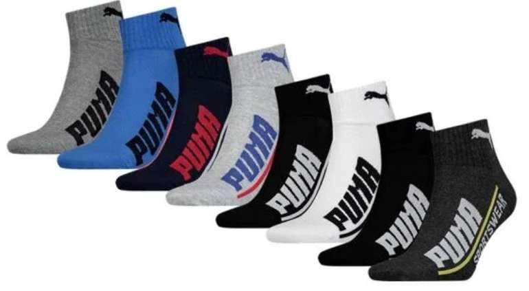 24er Pack Puma Logo Quarter Socken (versch. Farben) für 39,95€ inkl. Versand (statt 67€)