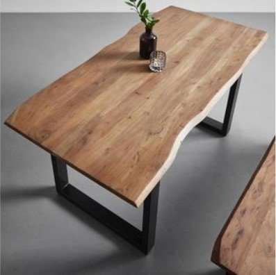 Esstisch aus Akazie Echtholz ca. 160x85cm 'Malmo' für 209€ bei Abholung (statt 299€)