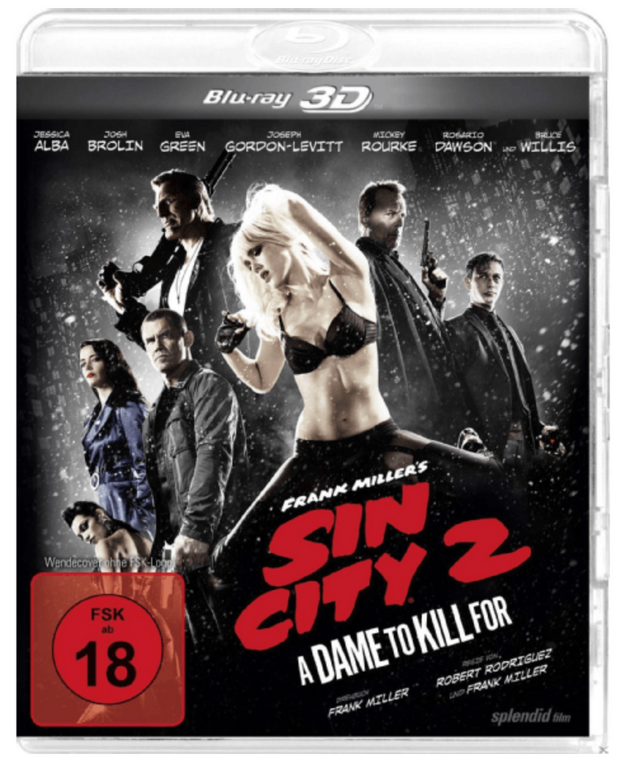 Sin City 2 - A Dame to kill for (Blu-ray) für 3,93€ inkl. Versand (statt 8€)